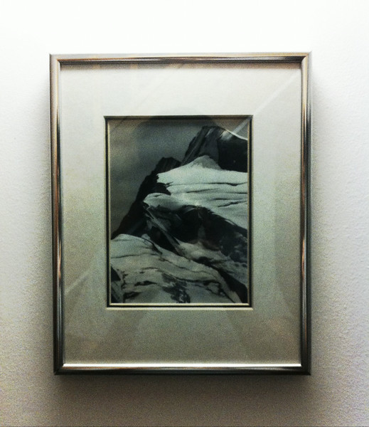 framed mounted photo
