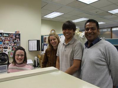 Malik Family Visit to HQ