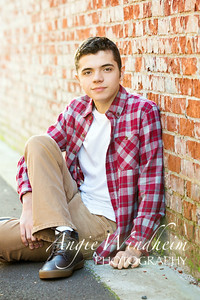 Cade M - Senior Portraits