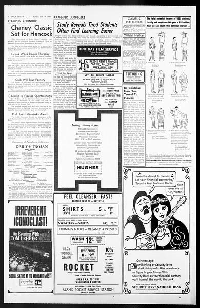 Daily Trojan, Vol. 57, No. 67, February 14, 1966
