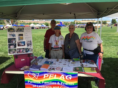 PFLAG at PrideFest - July 9-10, 2016