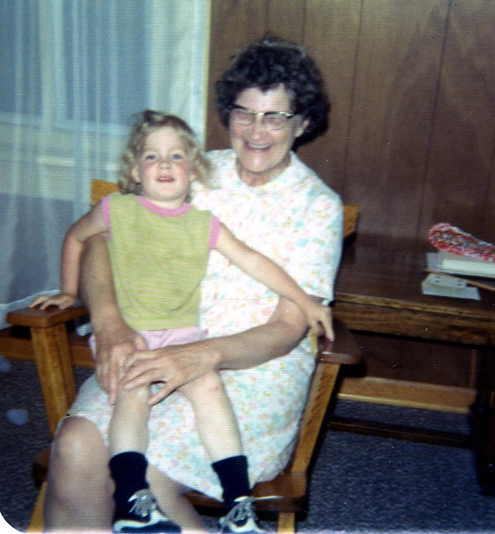 Kathy and Her Grandma Herdrich