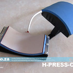 SKU: H-PRESS/CAP, Caps, Hats & Beanies Heating Pad (for ~60×125mm Curved Section) Attachment for Heatware Heat Press