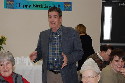 Bill Humble 80th