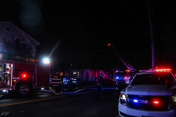 Park Ridge Second Alarm Fire Pascack Road 1/16/18