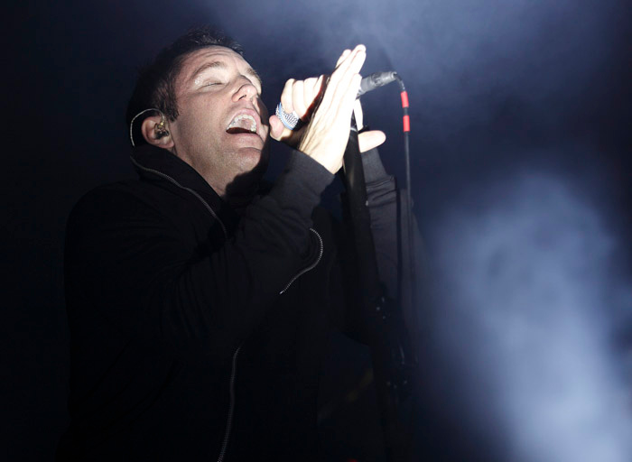 Description of . Trent Reznor of Nine Inch Nails at The Palace