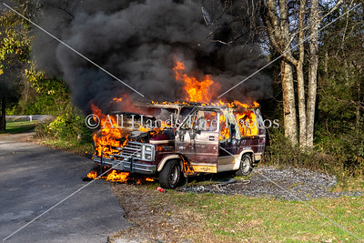 20181118 - Unincorporated Mount Juliet - Vehicle Fire
