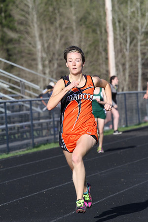 Manton Invite Girls 400 Meter