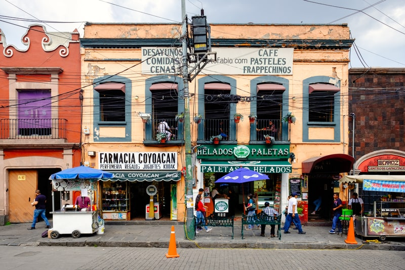 explore the Coyoacan neighborhood in this mexico city itinerary