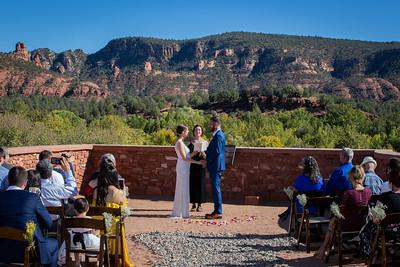 Elizabeth & James Sedona Wedding
