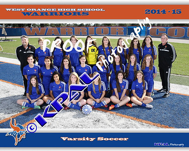 2014-15 Girls Soccer Team Photos