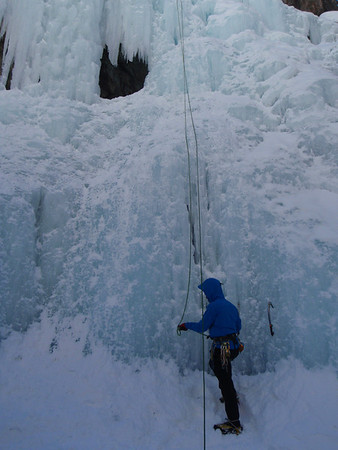 Ouray, CO Ice climbing 2.22/28 2012