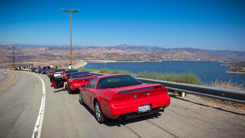 2013 07/28: LMR's Castaic Lake Drive
