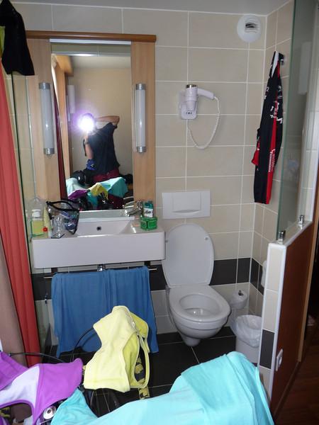 No bathroom door. A bit weird. Location - Montpellier