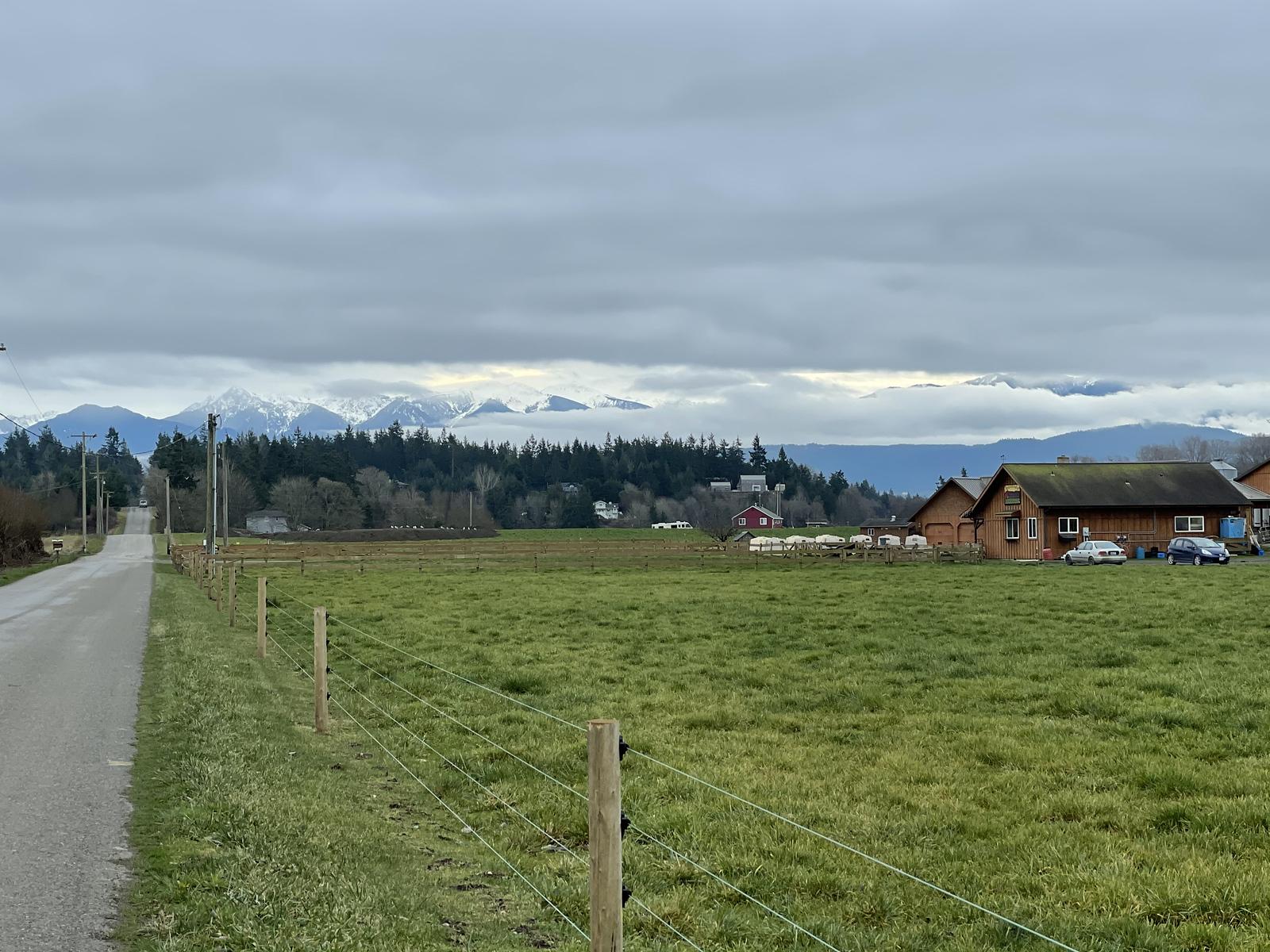 Mountains & farms