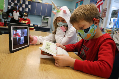 LS 2nd Reading Scary Books 10-30-20