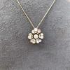 1.04ctw Victorian Rose Cut Diamond Pendant 7