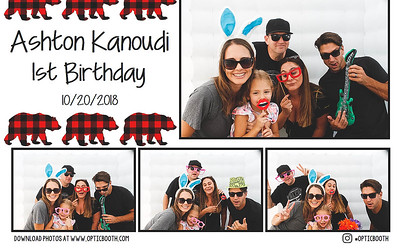 Ashtons' 1st Birthday Party