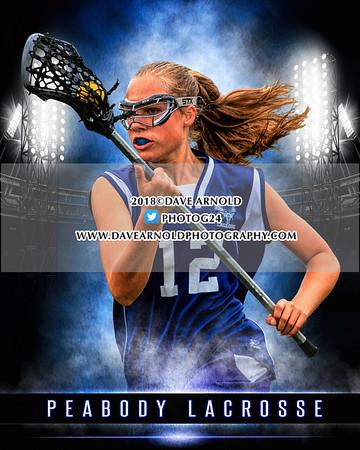 6/4/2018 - Girls Varsity Lacrosse - Peabody vs Reading