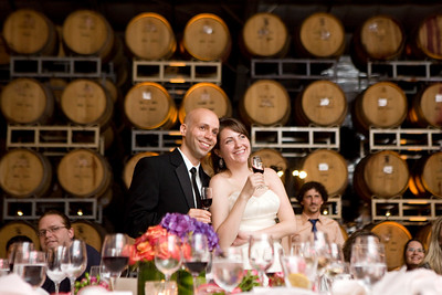 Wedding album: Kristen and Yaki at Cline Cellars in California