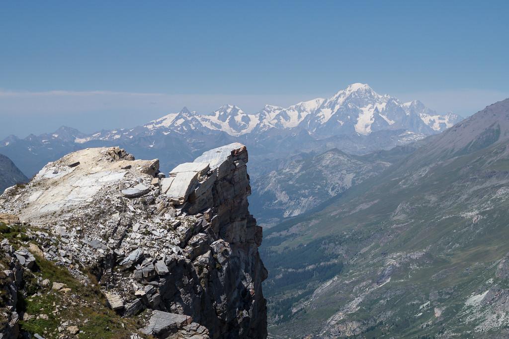 Mont Blanc desde Val d'Isère