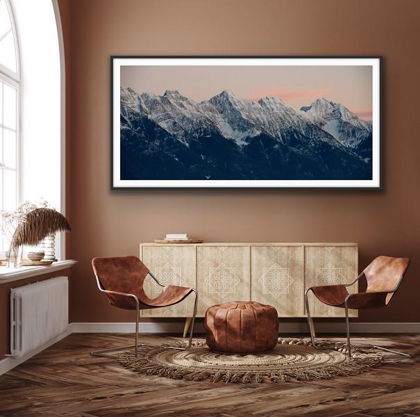 'Winter Ridgeline' Fine Art Print, Framed/Unframed