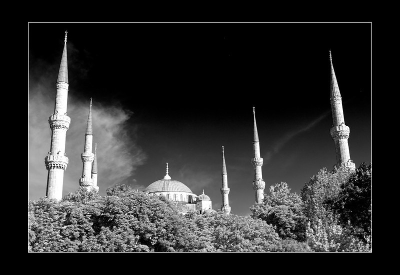 The Sultan Ahmed Mosque (The Blue Mosque)