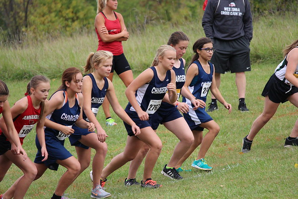 DC Cross Country at Collinwood, 9-26-17
