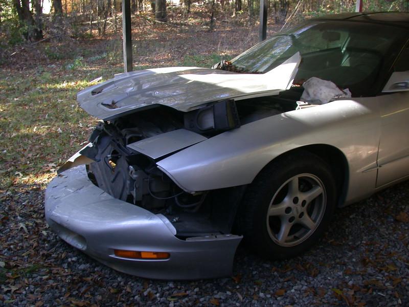 LT1 w/ automatic transmission. still runs fine