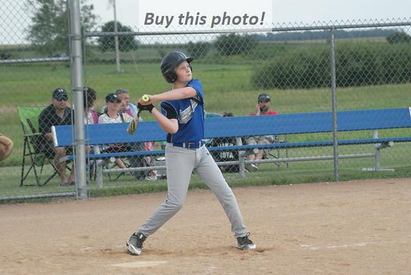 BBE 12U Jaguars baseball v. Rocori 08-06