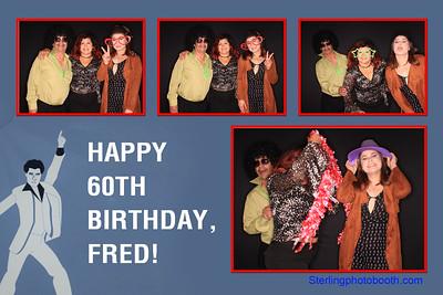Fred's  60th Birthday