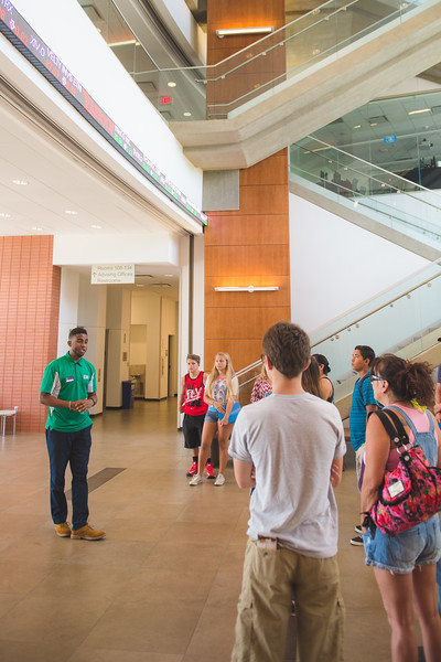 Future Islanders learn about the O'Connor Building