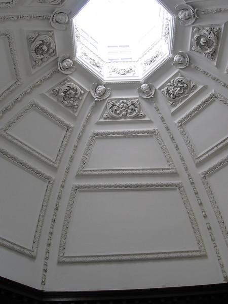 Skylight in Georgian Apartments, Hampton Court Palace