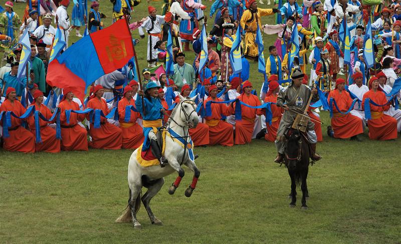 Naadam Festival  2013 - 2014. Ulaanbaatar, Mongolia
