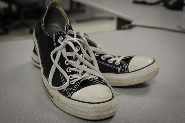 Chuck Taylor All-Stars,  from Hoosier basketball sneakers to punk rock kicks
