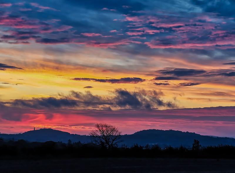 Dundee sunrise  07.40, 16/10/19