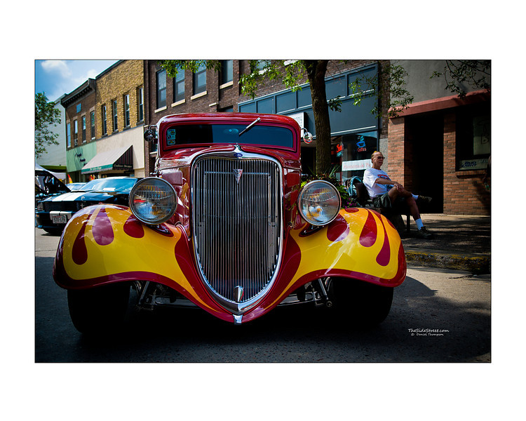 Cool Ride, Flaming Street Rod