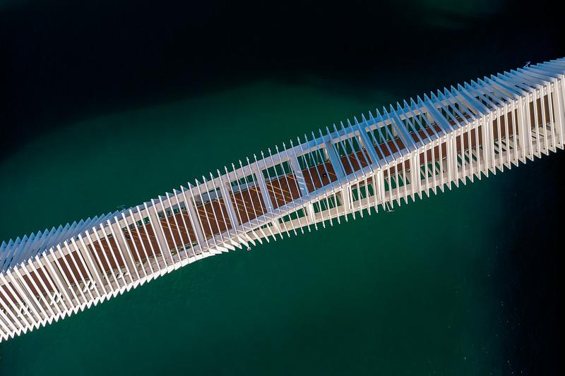 Dubai Canal footbridge
