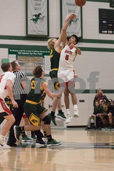 2/20/18 Borah vs Boise Varsity Basketball