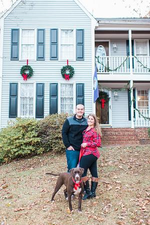 Matt & Candice | Christmas Portraits