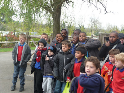 Junior Section Boys Brigade Chessington Trip 2012