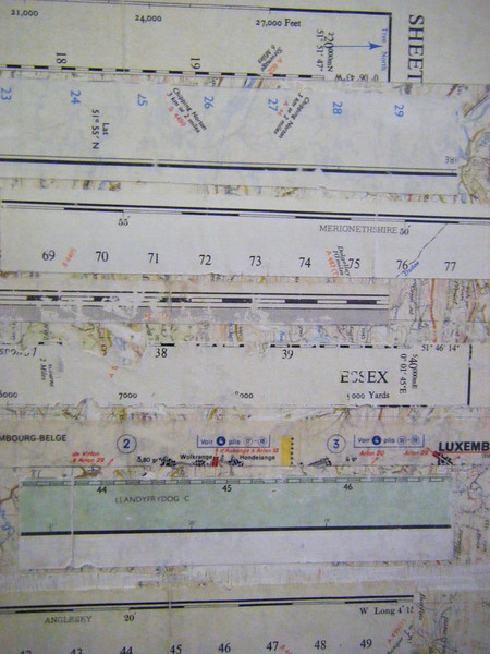 Bamber Hawes ~ map collage