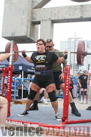 09.13.08 Powerlifting Meet at Muscle Beach Venice. Full meet deadlift, squat and bench press.