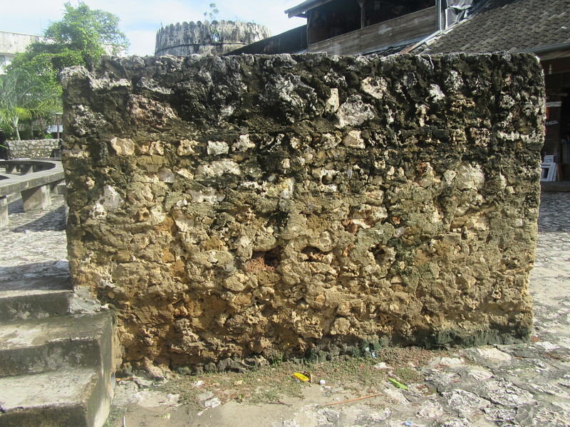 040_The coraline rock of Zanzibar was a good building material, but it is also easily eroded.JPG