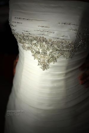 S.W wedding dress