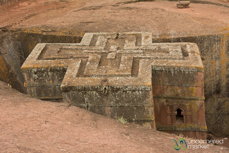Impressive St. George Church of Lalibela, Ethiopia