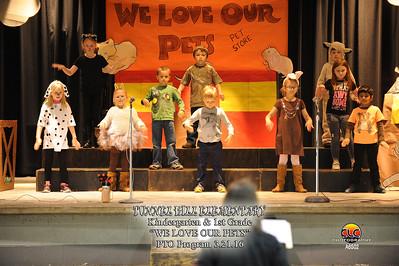 PTO Program Kindergarten & 1st Grade 2016