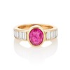 3.21ctw Burma N-Heat Ruby Ring, by Mellerio 0