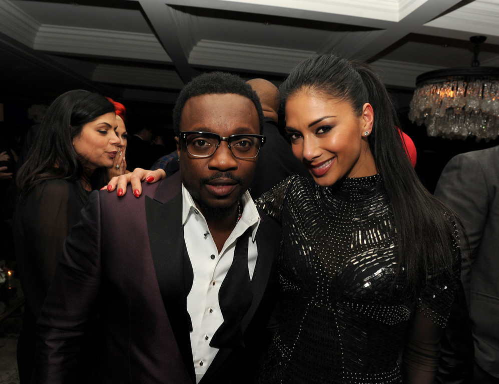 . Anthony Hamilton and Nicole Scherzinger attend the Maroon 5 Grammy After Party & Adam Levine Fragrance Launch Event on February 10, 2013 in West Hollywood, California.  (Photo by Kevin Winter/Getty Images for PRESS HERE)