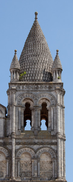 Angouleme Cathedral West Facade South Tower